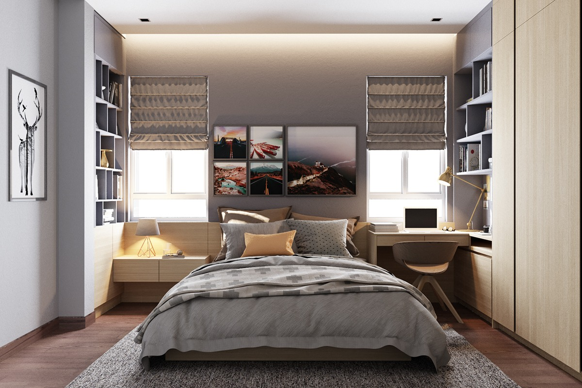 Applying modern bedroom designs with perfect and awesome interior decorating ideas inside - Bedroom studio design ...