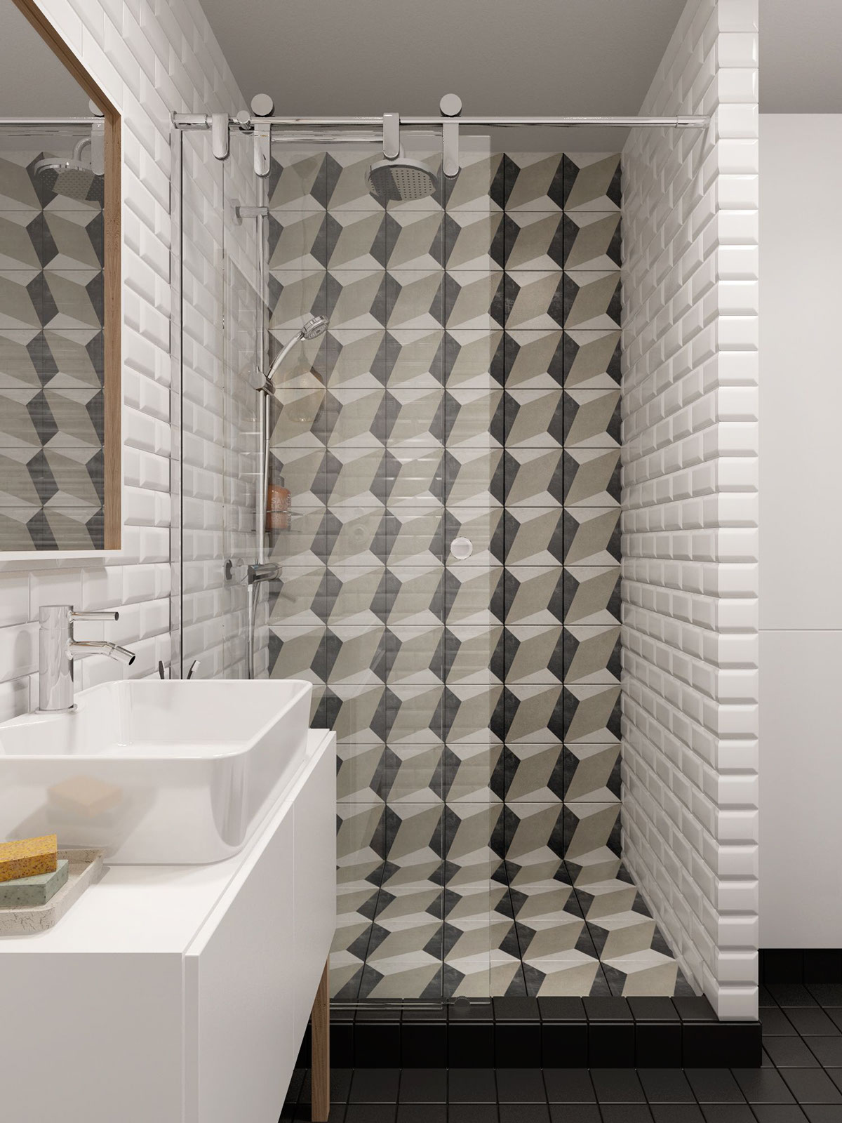 backsplash bathroom design