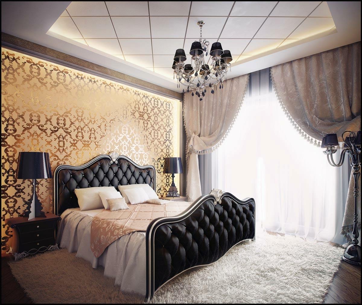 decorating elegant bedroom designs adding a perfect