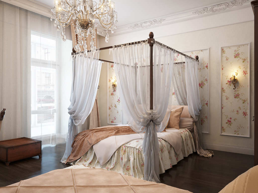 white elegant bedroom furniture design