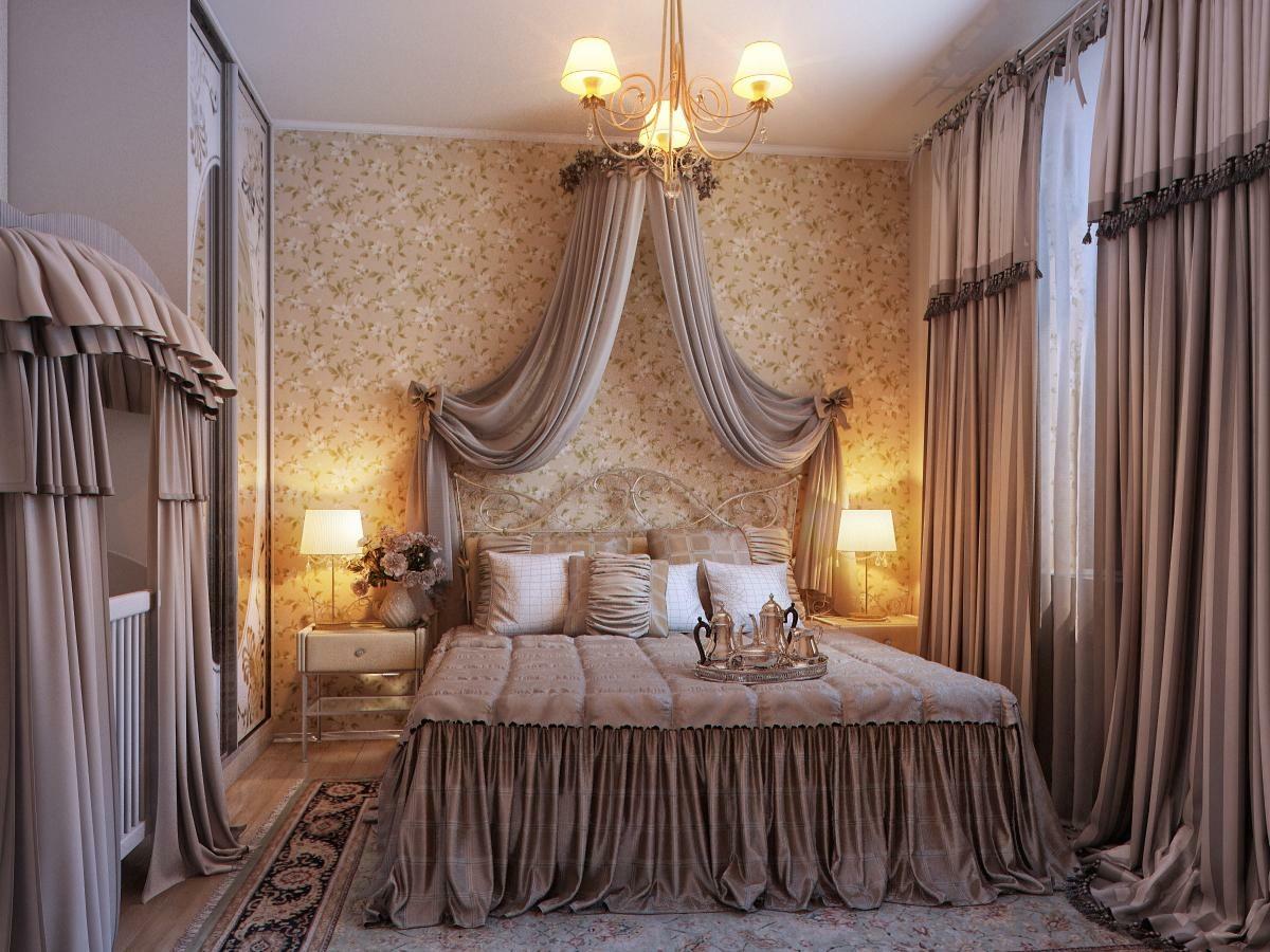 classic elegant bedroom design