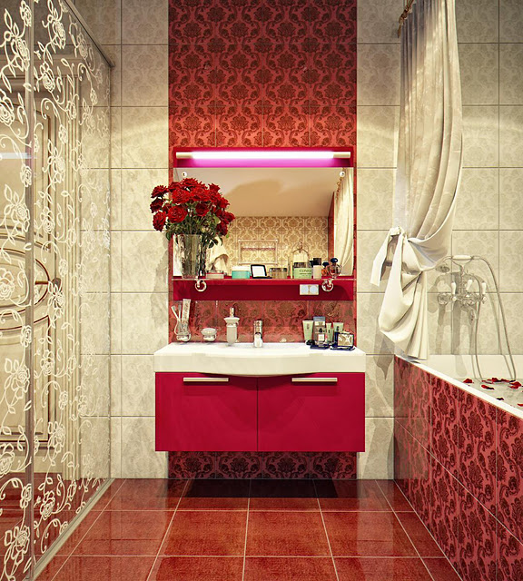 beauty modern bathroom design