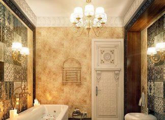 modern vintage bathroom