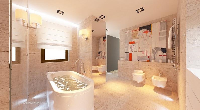 modern tile bathroom design