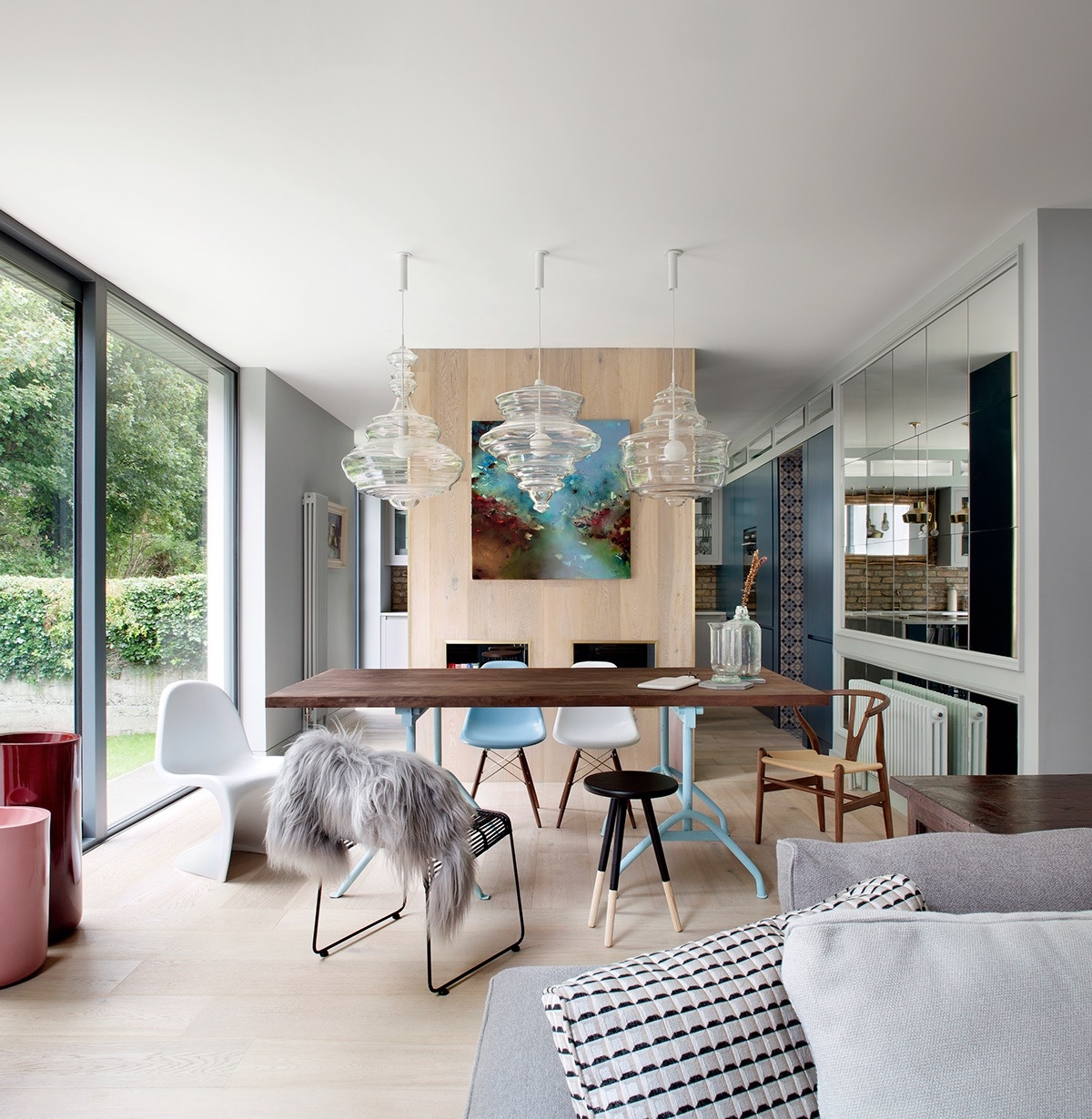 64 Modern Dining Room Ideas And Designs: Modern Dining Room Designs Combined With Scandinavian