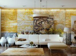 spacious living room design