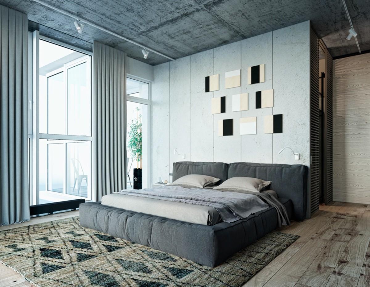 white bedroom decor idea