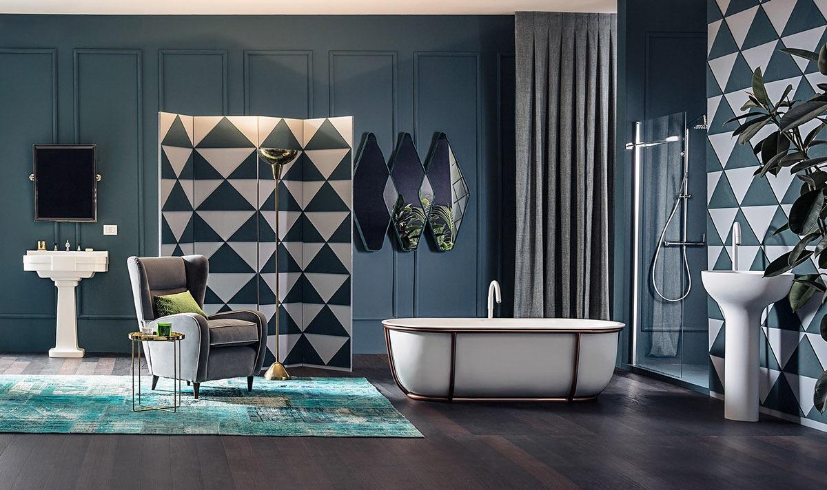 luxury bathroom design idea