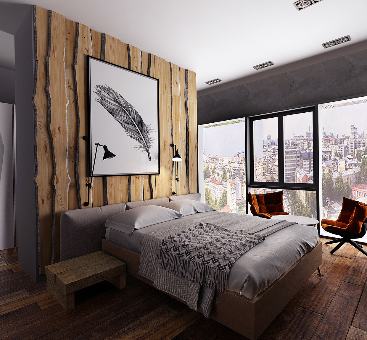 How To Arrange Awesome Bedroom Designs That Looks So Charming With A Trendy Decor Roohome