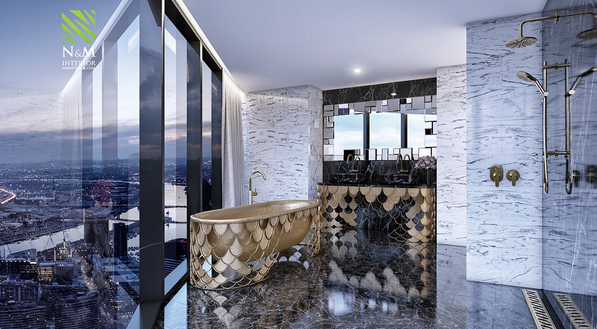 gold bathtubs for luxury bathroom
