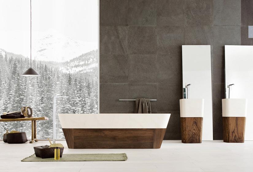 modern backsplash bedroom design