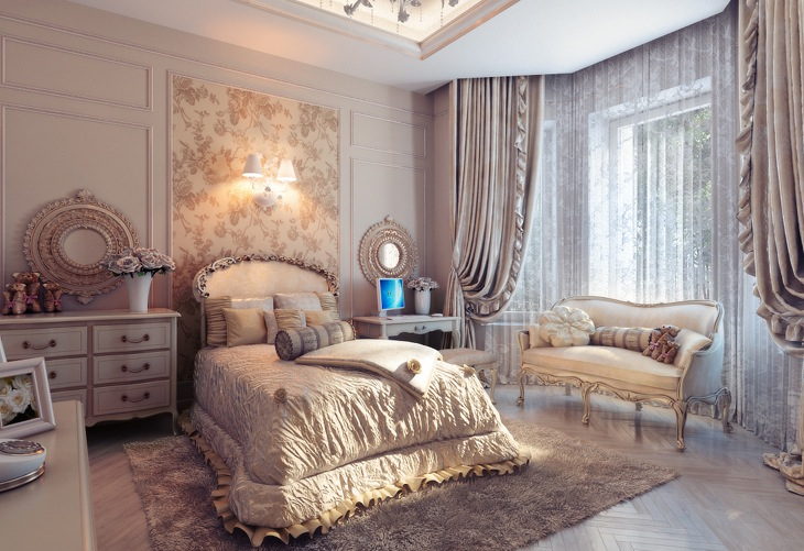 soft and elegant bedroom decor
