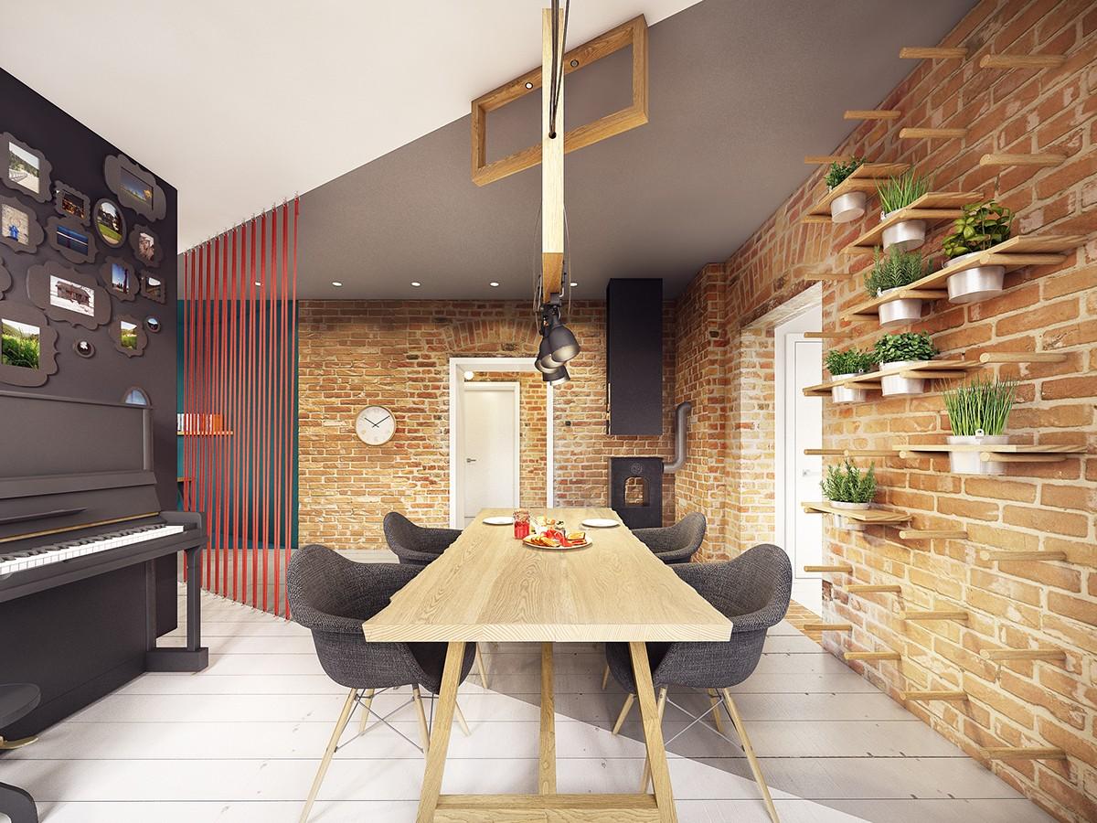stunning dining room apartment design