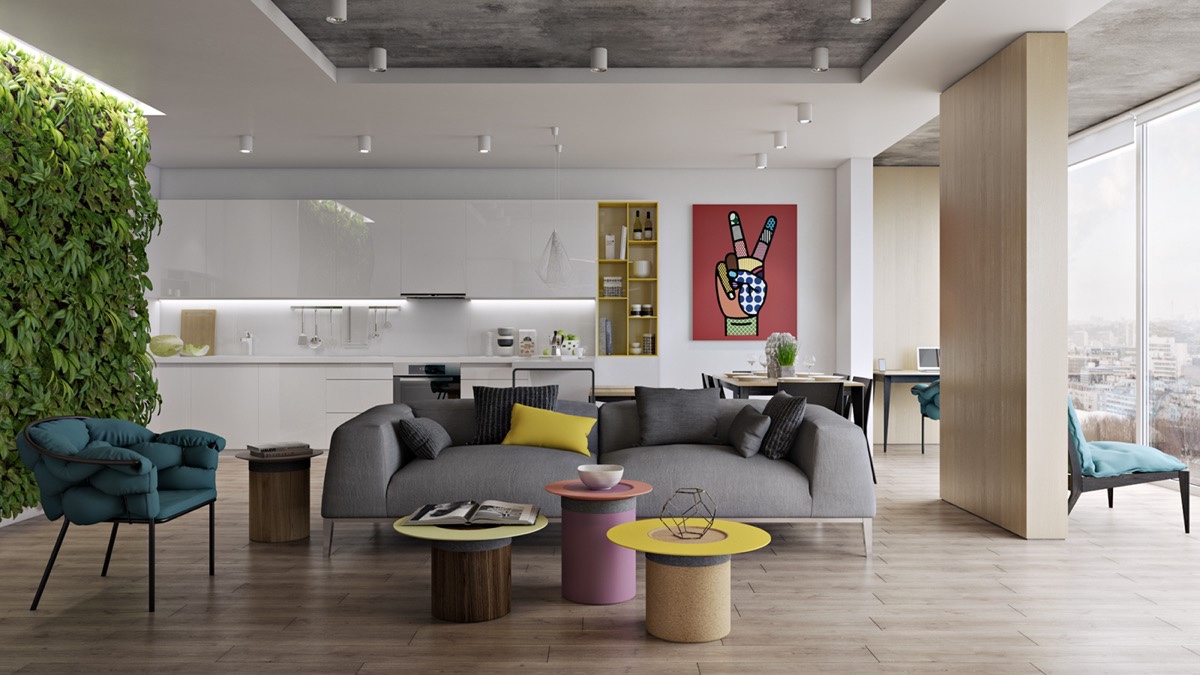 luxury living room decorating idea