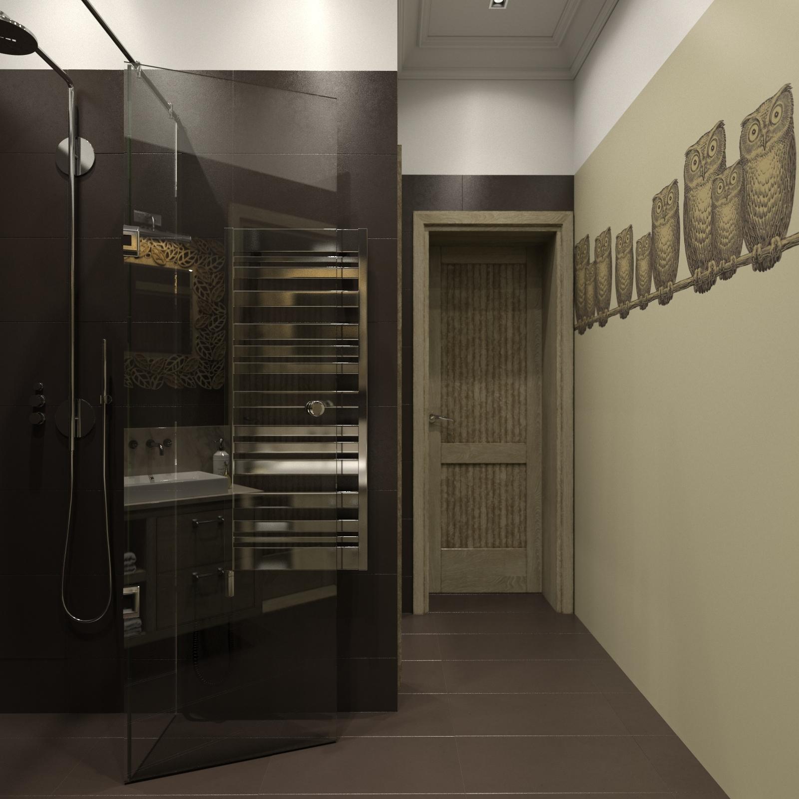 masculine modern bathroom design
