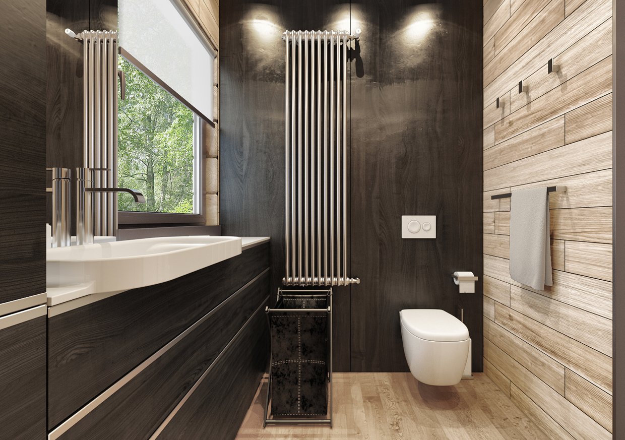 Smart way to create your small bathroom designs into a modern and minimalist roohome designs Simple contemporary bathroom design