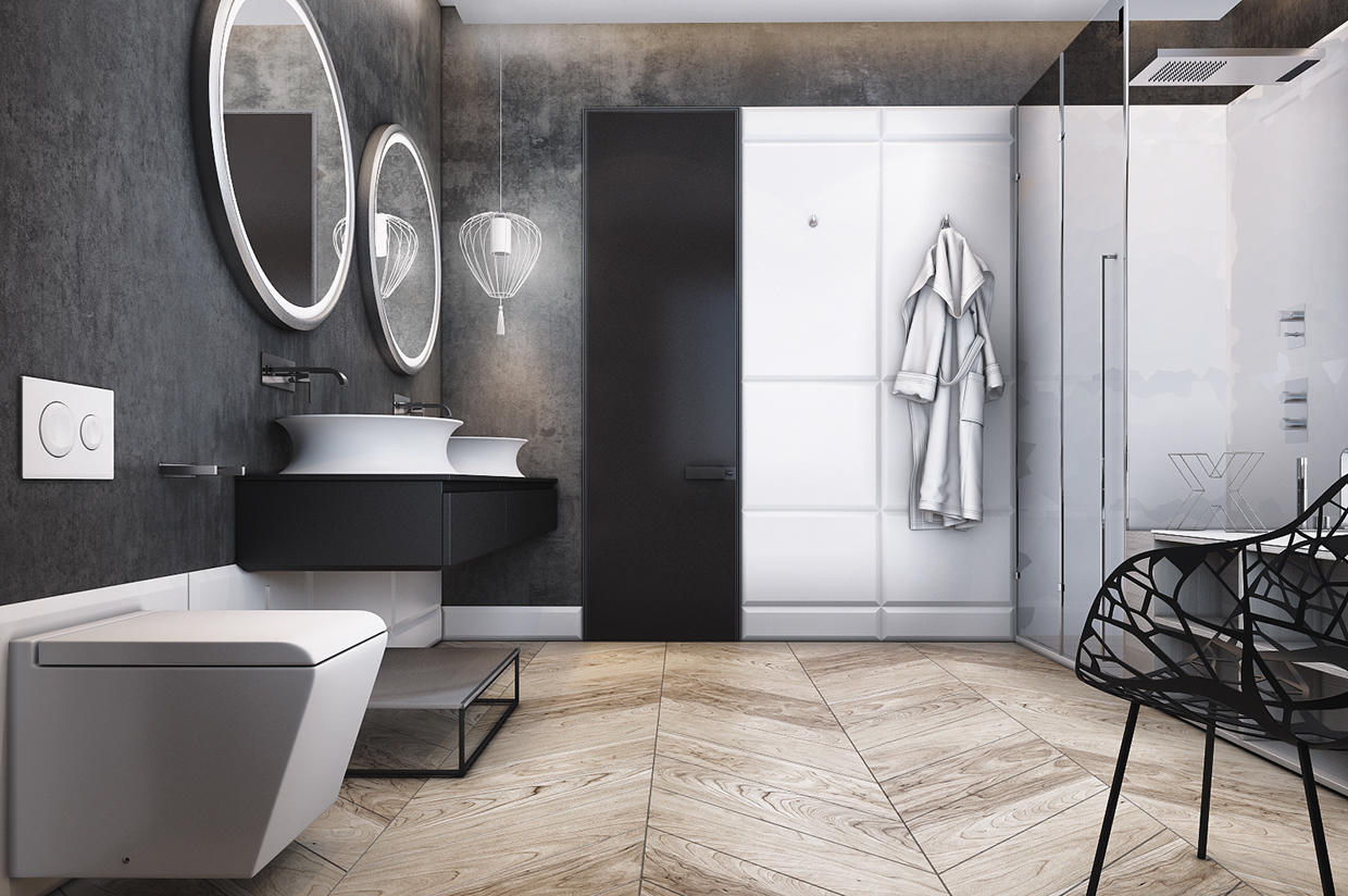 Smart way to create your small bathroom designs into a for Minimalist small bathroom design