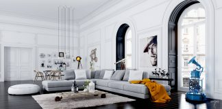 fascinating scandinavian living room designs