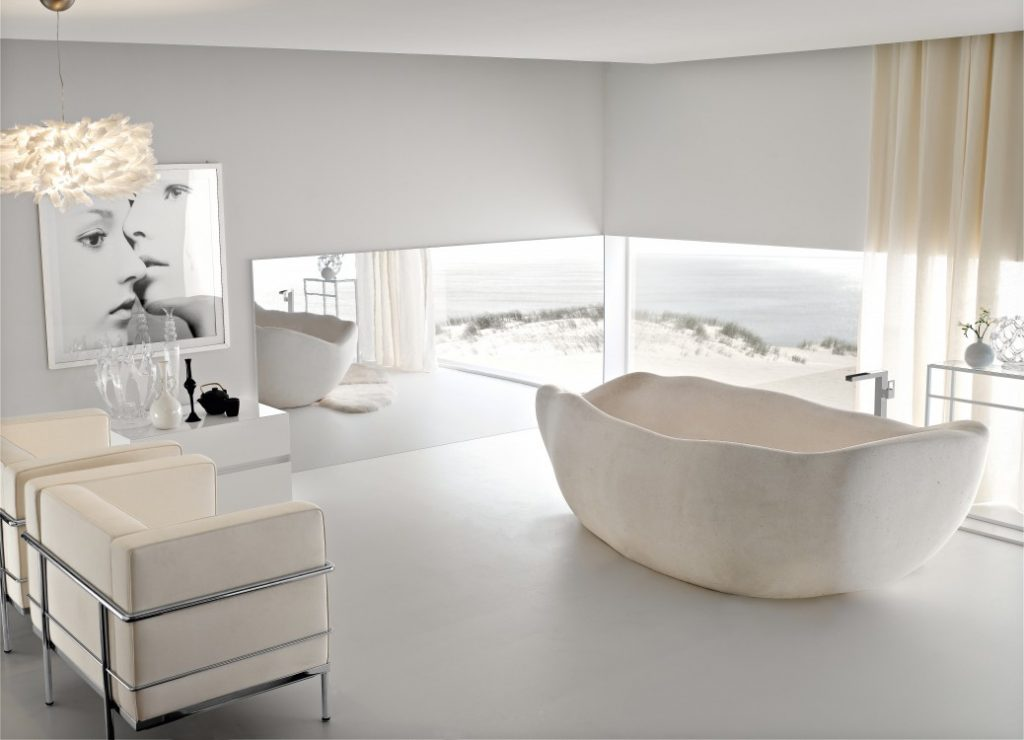 beautiful decor for modern bathroom