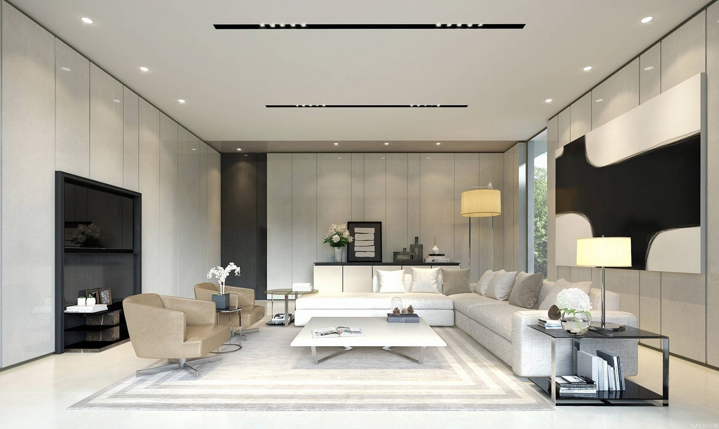 Luxury Living Room Design Spacious Living Room Designs Combined With Modern And Minimalist