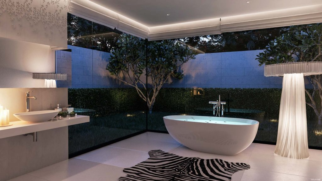 beautiful view bathroom design