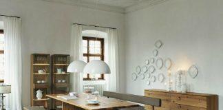 modern and minimalist dining