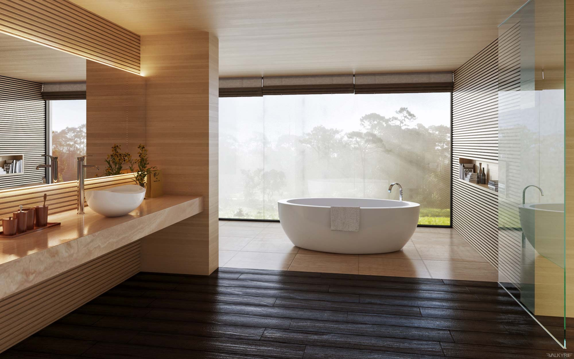 Luxury bathroom decor with beautiful and trendy design for Bathroom looks