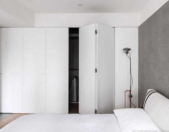 Take A Peek Three Interior Design Bedrooms Have Simple Monochrome ...