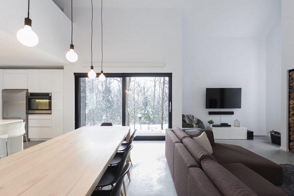 Contemporary private house design ideas