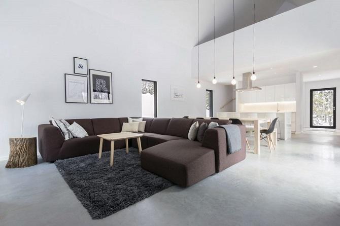 Contemporary private house design