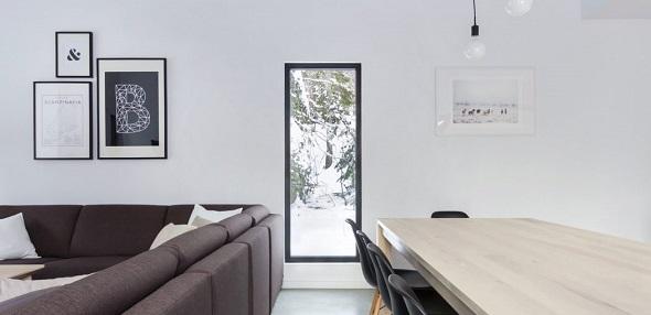 Contemporary private house interior