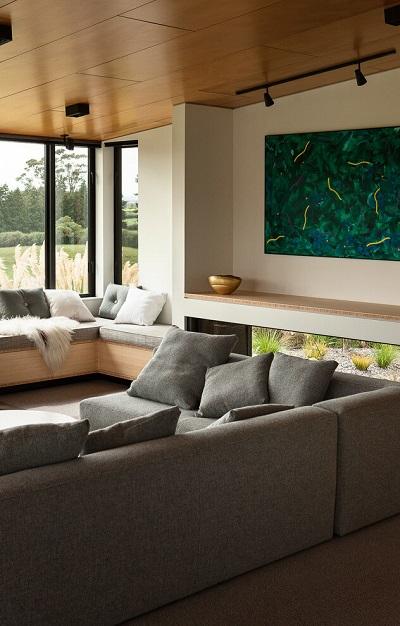 Contemporary single family house design