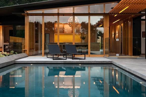 Contemporary terrace decorating ideas