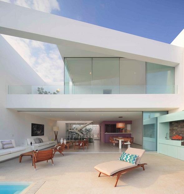 Contemporary terrace room decorating ideas