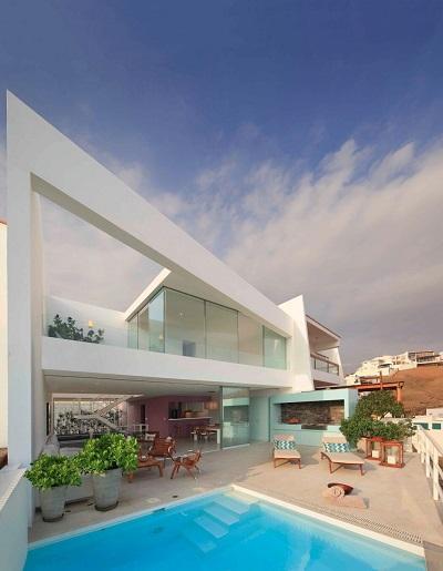 Contemporary terrace room design