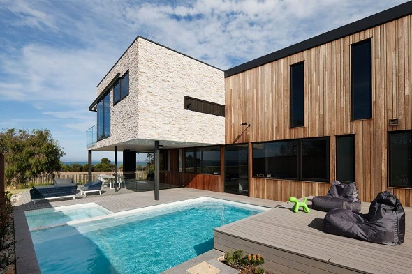 Contemporary two-storey home design