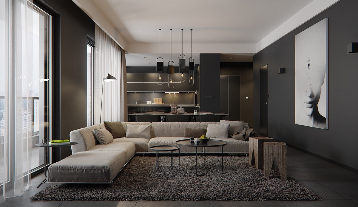 dark and sophisticated interior ideas