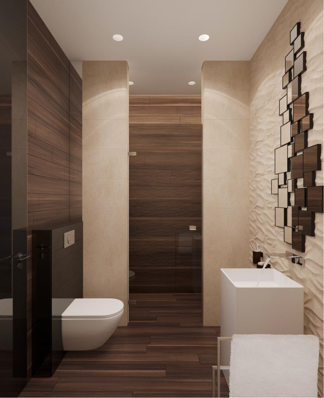 wall texture decor for bathroom