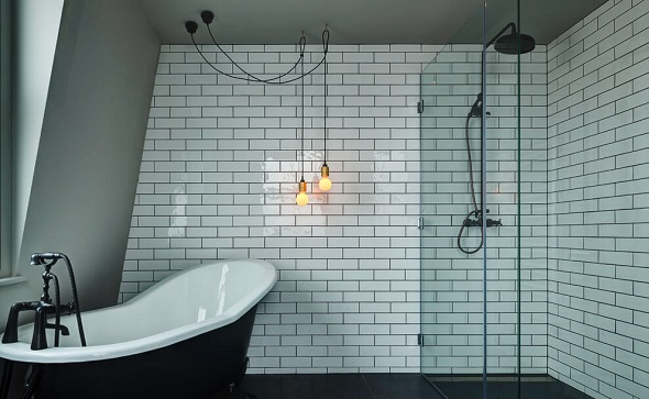 Elegant bathroom desig