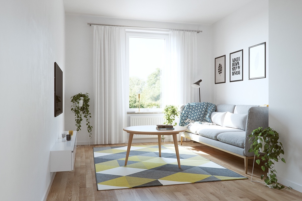 luxury small living room