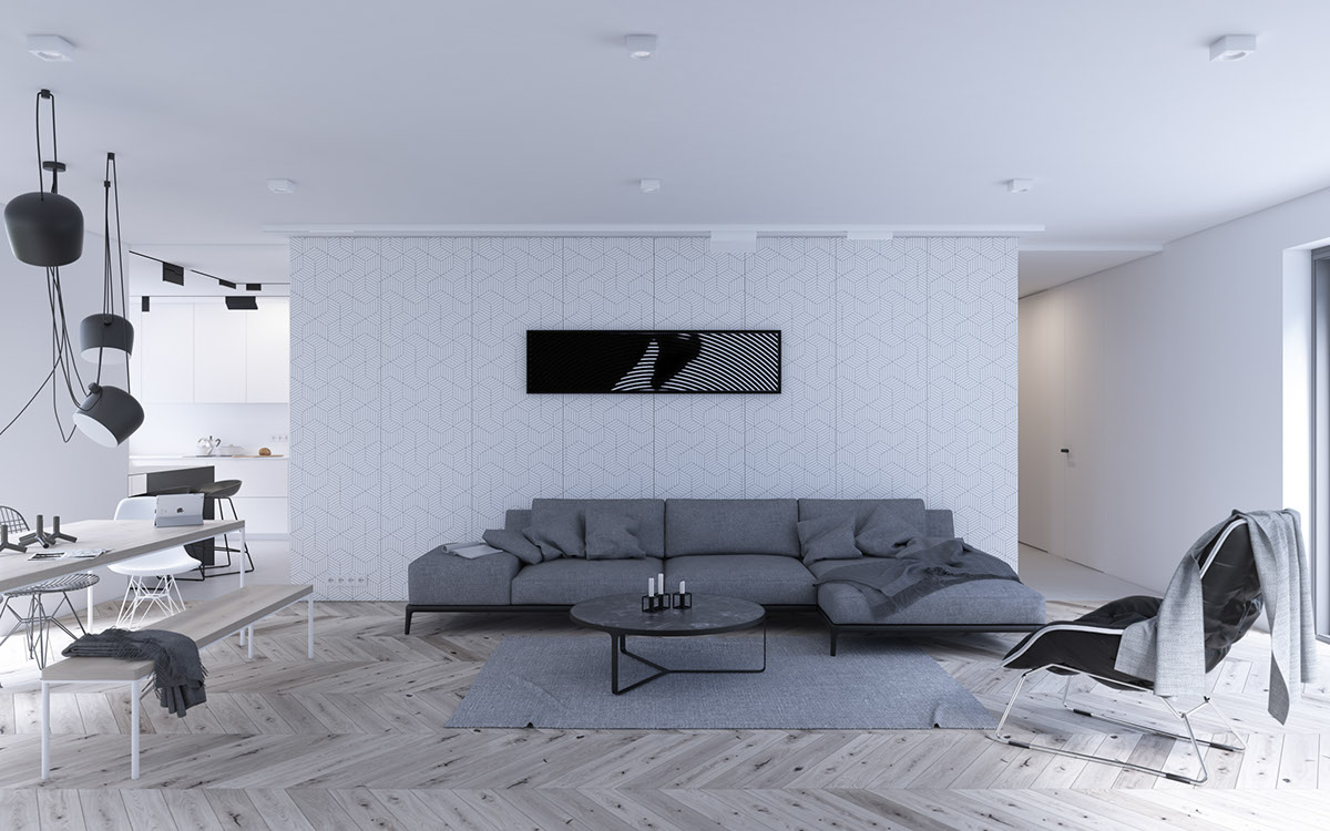 geometric scandinavian decor