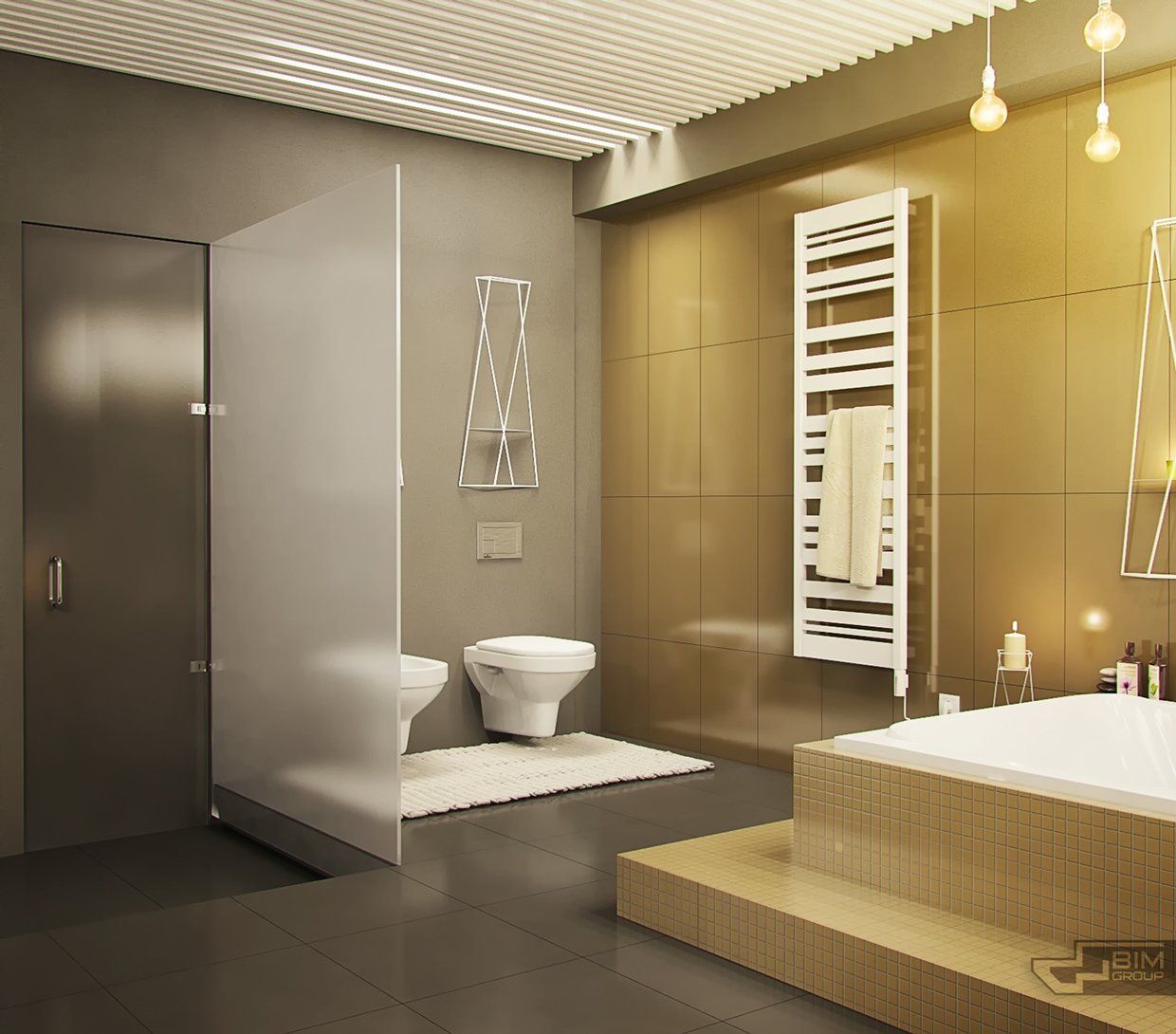 huge bathroom design