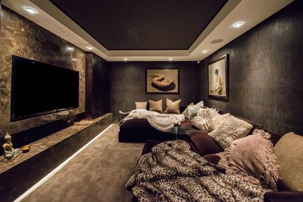 Luxurious apartment interior