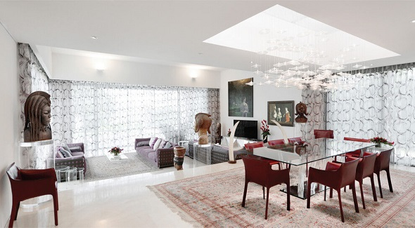 Luxurious dining room design ideas