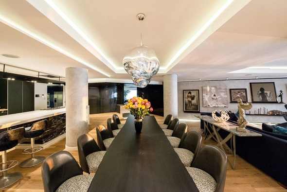 Luxurious dining room ideas