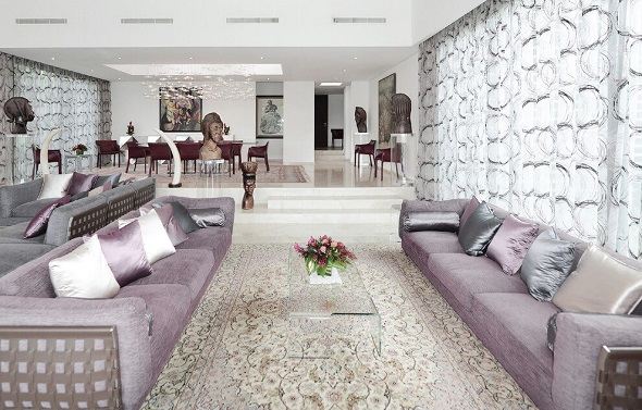 Luxurious home decorating ideas