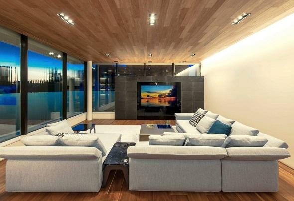 Luxury living room decorating