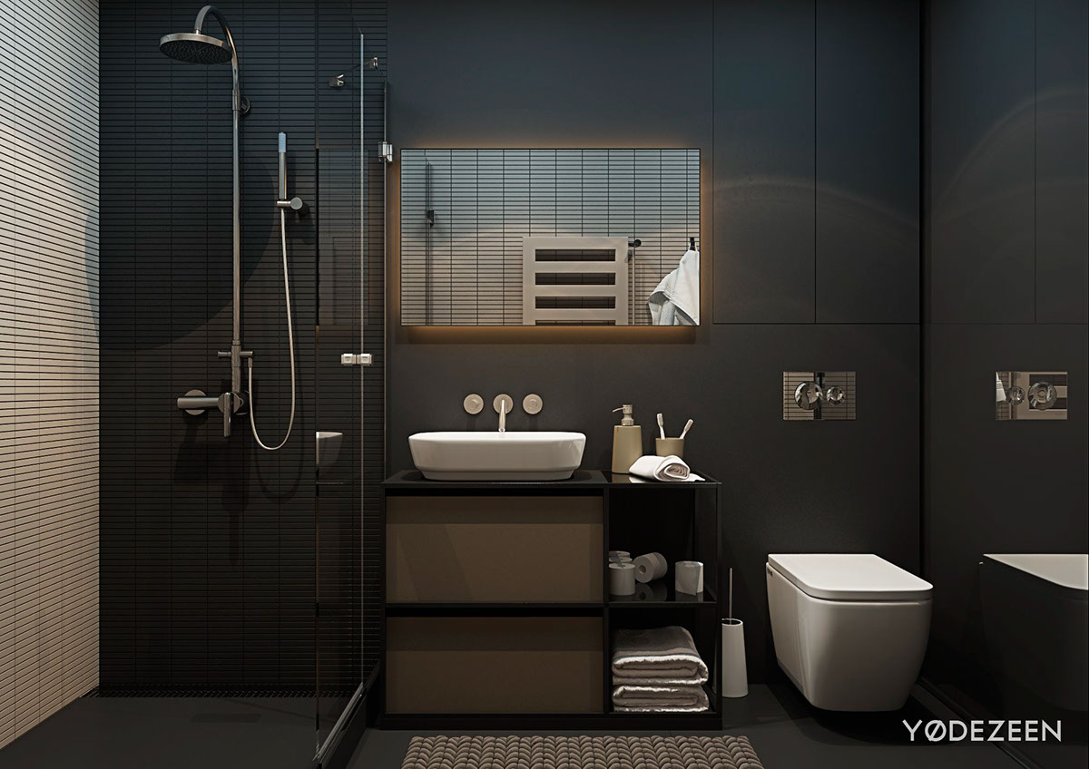 Black Bathroom Decor