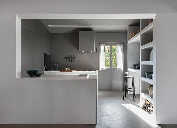 Minimalist kitchen interior