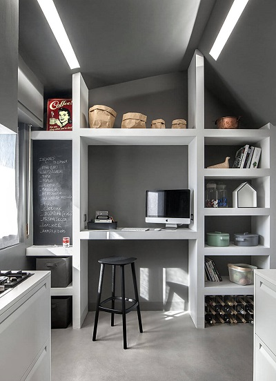 Minimalist kitchen plans and decor
